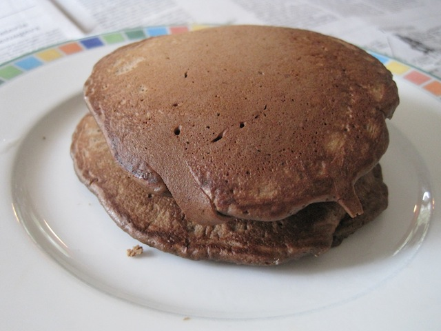 No Nomsense: Chocolate pancakes