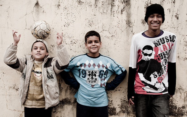 In Brazil and other countries around the world, soccer is the go-to sport for restless youth.