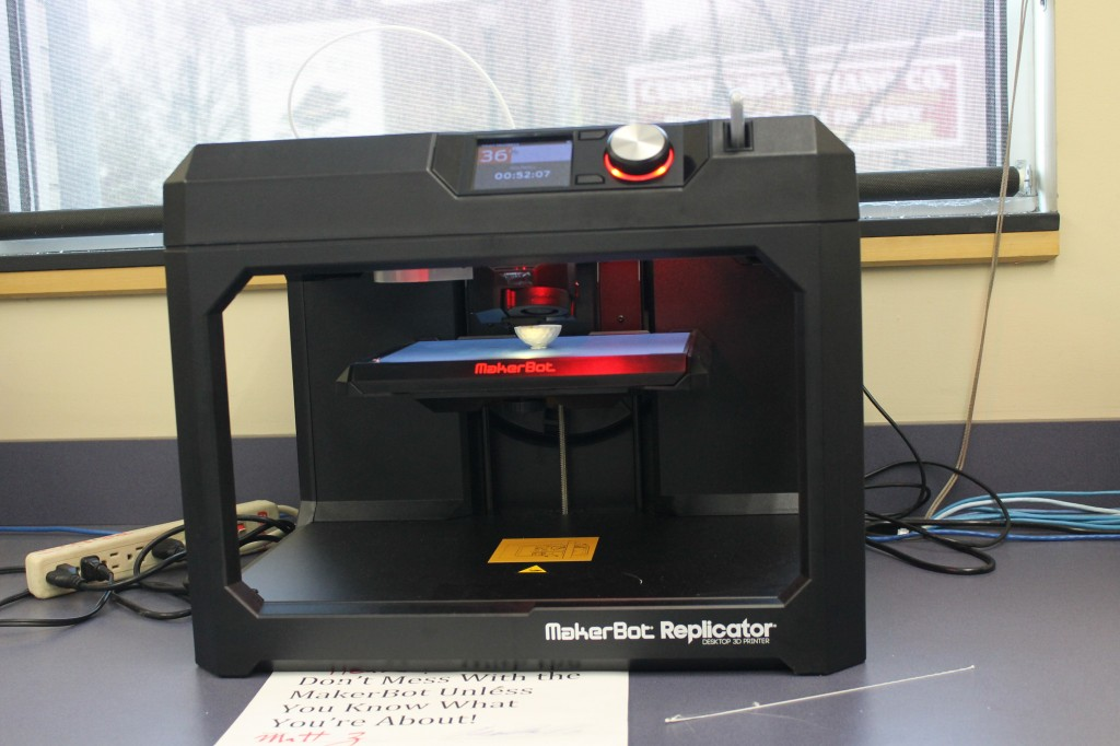 New 3D printer gives students immense potential