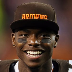 Cleveland Browns WR Josh Gordon,