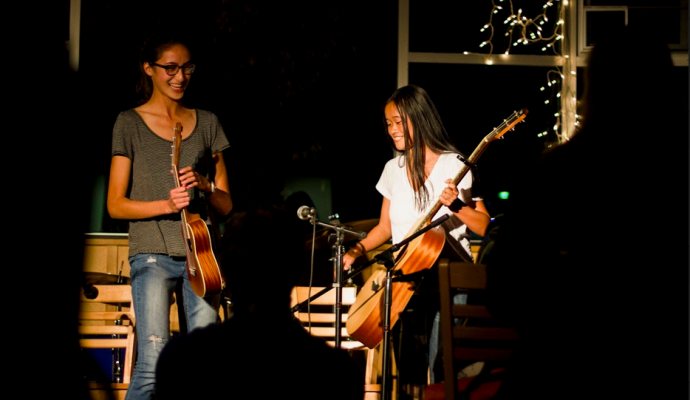 """Audio: First """"Coffeehouse"""" of 2016 A Success"""