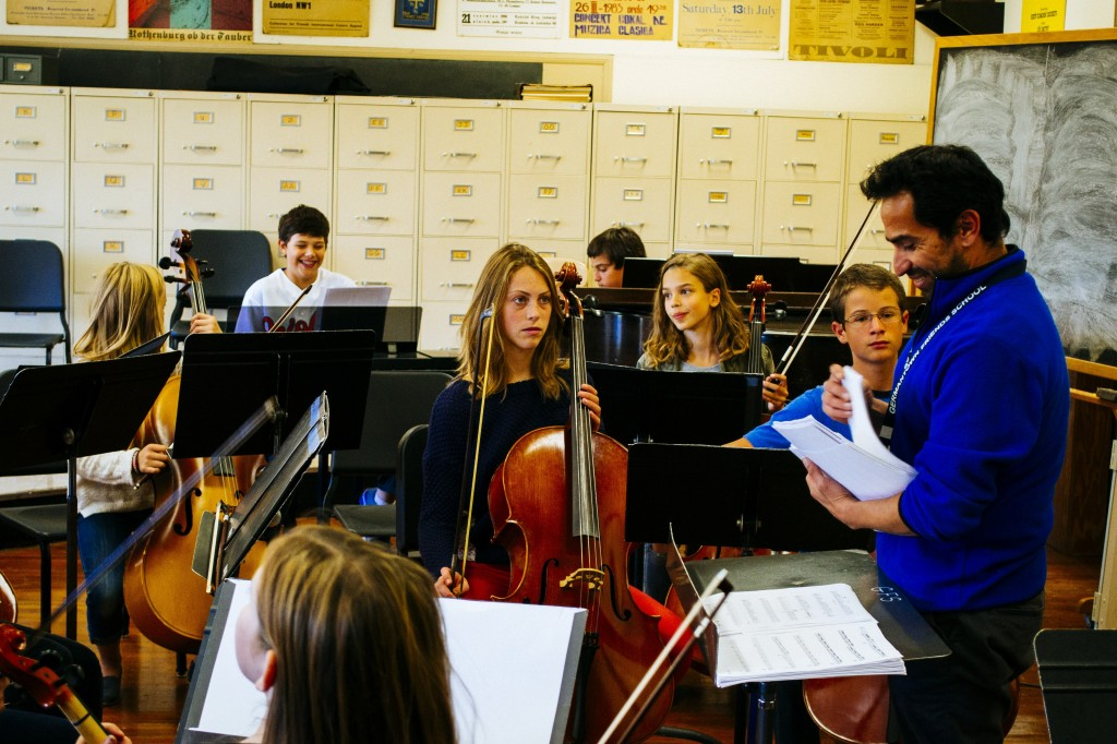 GFS welcomes new Head of Orchestra, Mario Flores